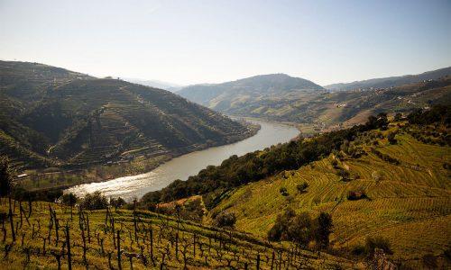 Vista da região do Alto Douro